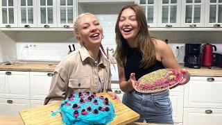 Ece Seckin ile makyaj değil rengarenk pastalar yaptık!