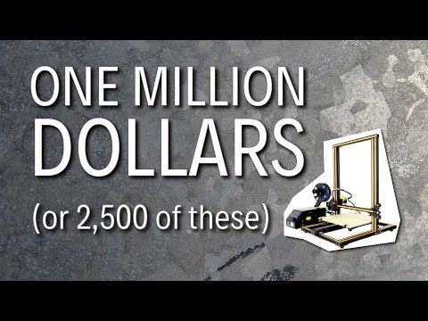 Best 3D Printers from $200 to $1,000,000 (Yes, 1 Million Dollars!) 2018