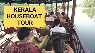 Holiday in Kerala - Houseboat cruise at Alleppey Backwaters
