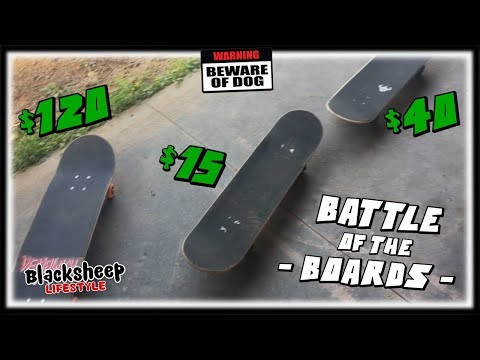 $15 Krytonics  vs  $40 Darkstar  vs  $120 Pro Complete   |  Which Skateboard Is Worth The Money