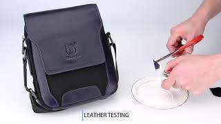 Bull Captain Leather Men Bag Small Shoulder Bags Casual Messenger Bag