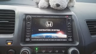 How to get 06 - 11 Honda Civic Touchscreen Radio Code