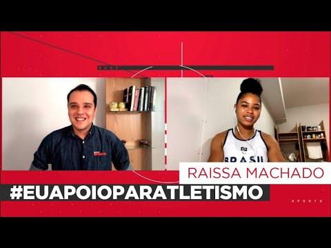 RAÍSSA MACHADO CONTOU PARA O REPÓRTER THIAGO KANSLER SOBRE A SUA TRAJETÓRIA
