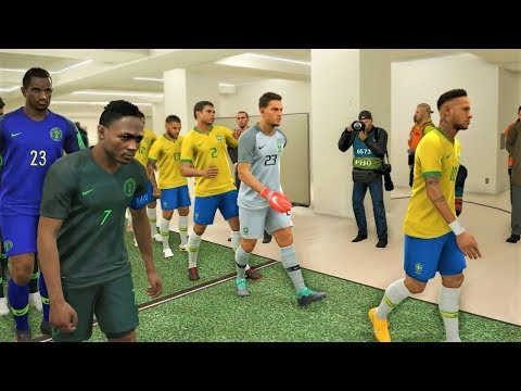 PES 2019: Brazil vs Nigeria - International Friendly