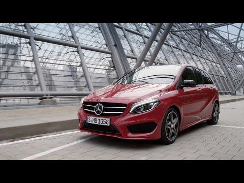 Mercedesbenz  B Class Хетчбек класса B - рекламное видео 1