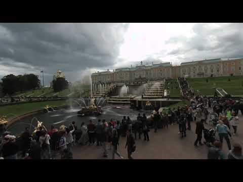 Russia - St Petersburg - Peterhof 01 (VR180)