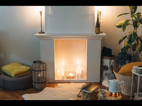 DIY Fake Kamin aus Regalen - IKEA Hack