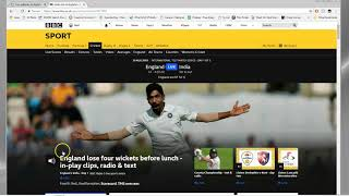 Listen to Test Match Special Abroad