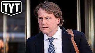 Don McGahn Runs Away From Robert Mueller