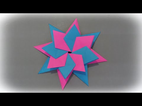 Origami Star - Tutorial - Paper star