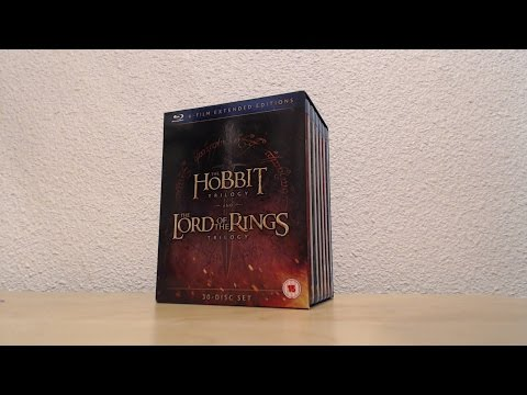 Middle Earth 6 Movie Collection Blu Ray Unboxing