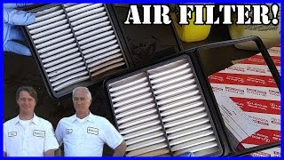 Air Filter Replacement Toyota Prius 2003-2009