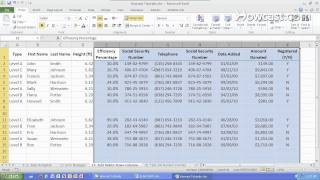 How to Add & Delete Rows & Columns | Microsoft Excel