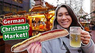 American GFs FIRST German Christmas Market!!