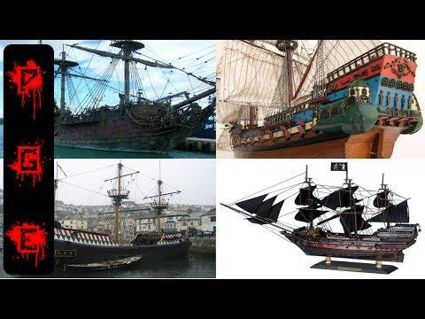 Los barcos piratas más legendarios