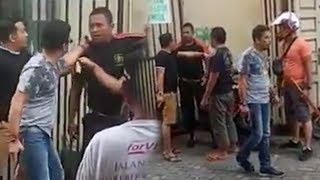 Viral Video Pria Tenteng Senjata Ribut dengan Satpam, Begini Tanggapan Wakapolres Medan