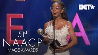 Marsai Martin Wins Supporting Actress In A Motion Picture Award! | NAACP Image Awards