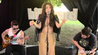 """Bebe Rexha - """"I Can't Stop Drinking About You"""" Live Billboard Session @ Lollapalooza 2014"""