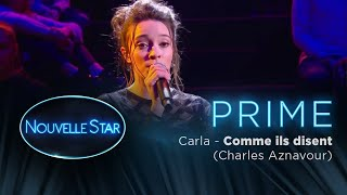 PRIME 01 - CARLA - Comme ils disent (Charles Aznavour)