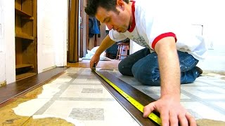 NEWBIES INSTALL VINYL SNAP-IN FLOORING