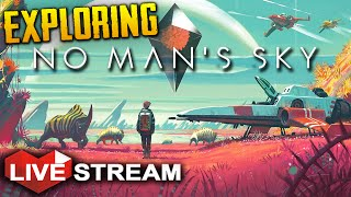 No Man's Sky: Part 1  Exploring a UNIVERSE   Gameplay Live Stream (+ GIVEAWAY)