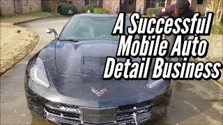 How To Operate A Successful Mobile Auto Detail Business? (Corvette Stingray)