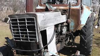 неубиваемый трактор мтз  запуск