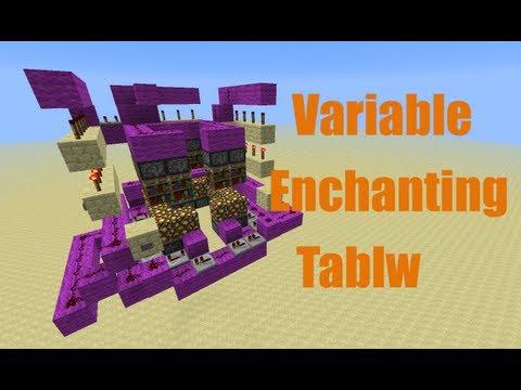 Minecraft tutorial variable enchantment setup for 13 minecraft minecraft tutorial variable enchantment setup for 13 malvernweather Image collections