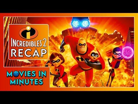 Incredibles 2 in 3 minutes (Movie Recap)