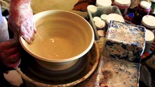 Pottery Bowl- How To Make A Large Ceramic Bowl