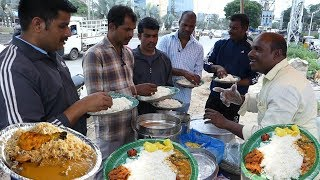Happy to Serve You | Cheapest Roadside Unlimited Meals | #StreetFood