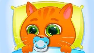 КОТЕНОК БУБУ #79 / Котик заболел. Лечим кота / Делаем пасху батон -мультик игра для детей #ПУРУМЧАТА