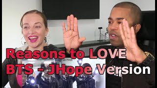 Reasons to Love BTS: J Hope Version (REACTION 🎵