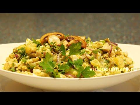 Салат из курицы с ананасом - Рецепт Бабушки Эммы
