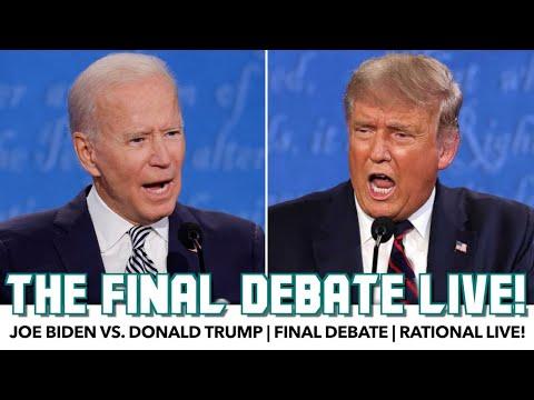 The Final Debate! | Biden vs. Trump | Rational Live!