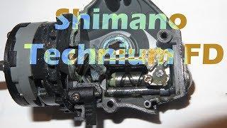 Катушка shimano technium 3000 sfb