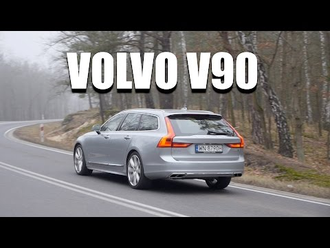 Volvo Volvo V90 2017 D5 (ENG) - Test Drive and Review videosu