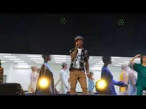 "Pharrell Williams ""Freedom"" - Live from Croke Park Stadium, Dublin"