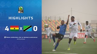 CAN U20 2021 | Groupe C : Ghana 4-0 Tanzanie
