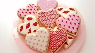 How To Decorate Cookies For Valentines Day