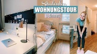 ROOMTOUR - meine Studentenwohnung in Hamburg (1-Zimmer-Apartment) // Miss Aliana