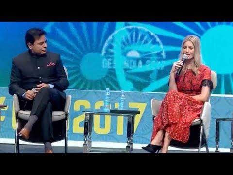 FULL VIDEO : KTR Debate With Ivanka Trump..Global Entrepreneurship Summit in Hyderabad, India