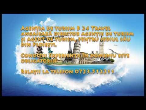Angajari agentia de turism B 24 Travel