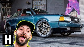 Scotto's Audi Finally Drives!? 10+ Year Audi Project Hits the Road