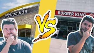 McDonald's VS Burger King - HANGİSİ DAHA LEZZETLİ?