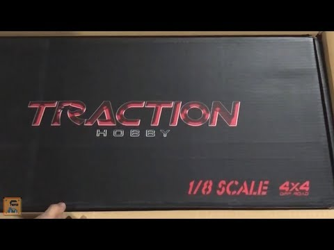 Beautiful Unboxing - Traction Hobby 1/8 Scale RC Crawler