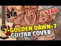 Die Antwood - 2-Golden Dawn-7 (Fingerstyle Guitar Cover, Tabs, Chords, Lyrics)