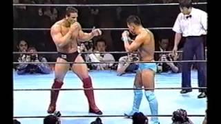 Ken Shamrock vs Kazuo Takahashi - Pancrase: Truth 1