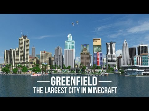 Greenfield The Largest City In Minecraft V OUT NOW - Minecraft maps fur mac