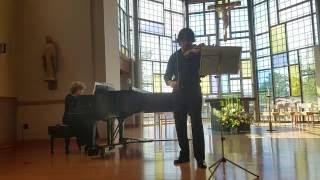 Violin Sonata No.1 in Am, Op.105, 1st Mvt Robert Schumann